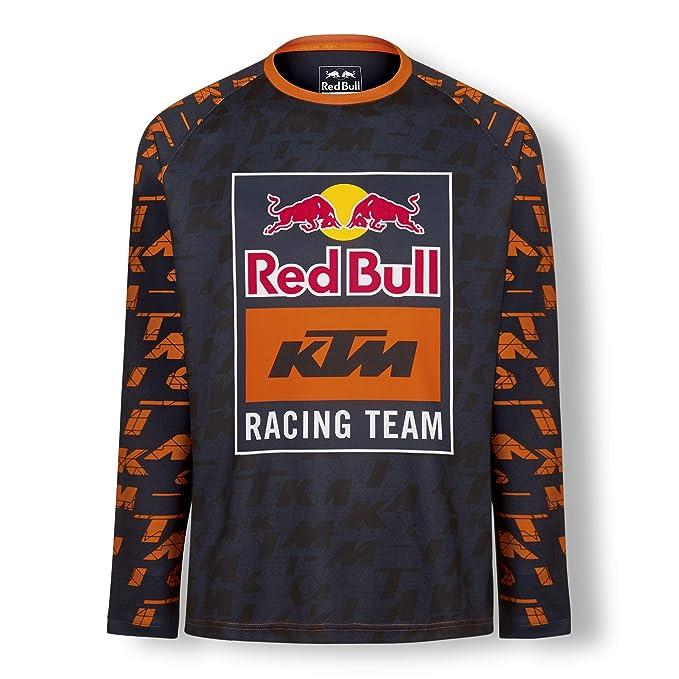 Amazon.com: Camiseta de Mosaico Red Bull KTM, azul para ...