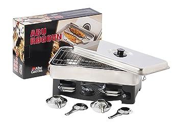90a90a7a3164d Amazon.com   Abu Garcia Metal Smoker - Silver   Garden   Outdoor