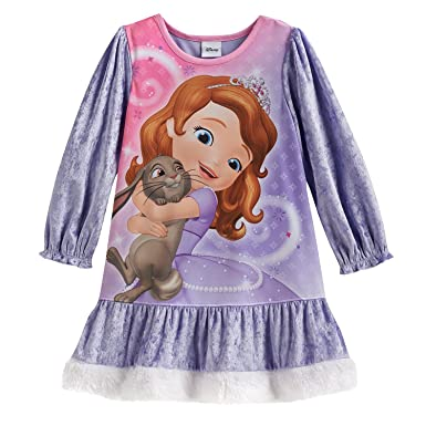 db1ad90254 Image Unavailable. Image not available for. Color  Disney Sofia The First  Nightgown Sleepwear ...