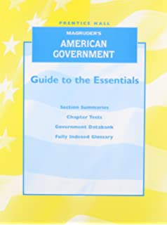 Amazon magruders american government guided reading and review magruders american government 2007 guide to the essentials english workbook fandeluxe Image collections