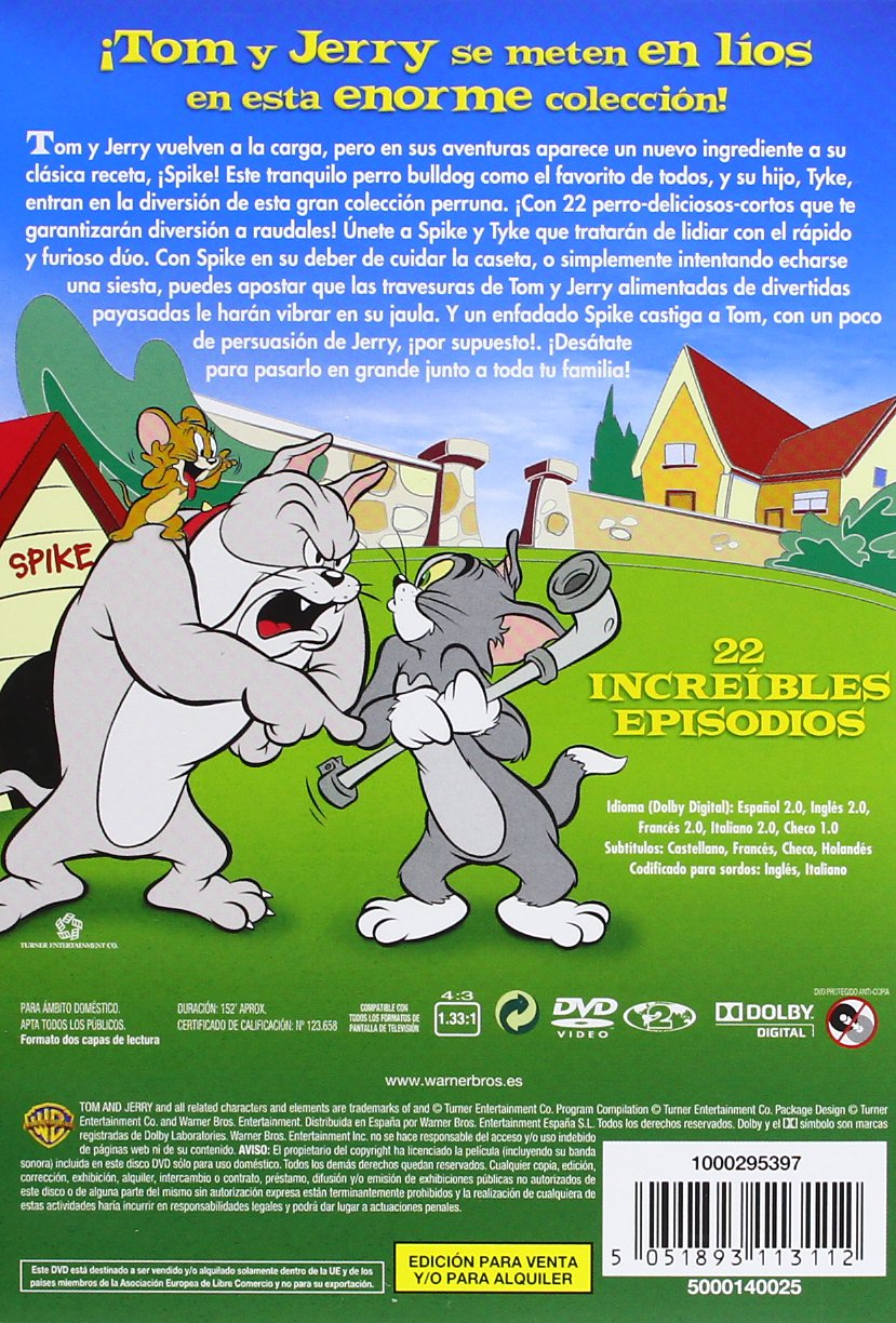 Tom And Jerry: In The Dog House (22 Episodios) [DVD]: Amazon.es: Varios: Cine y Series TV
