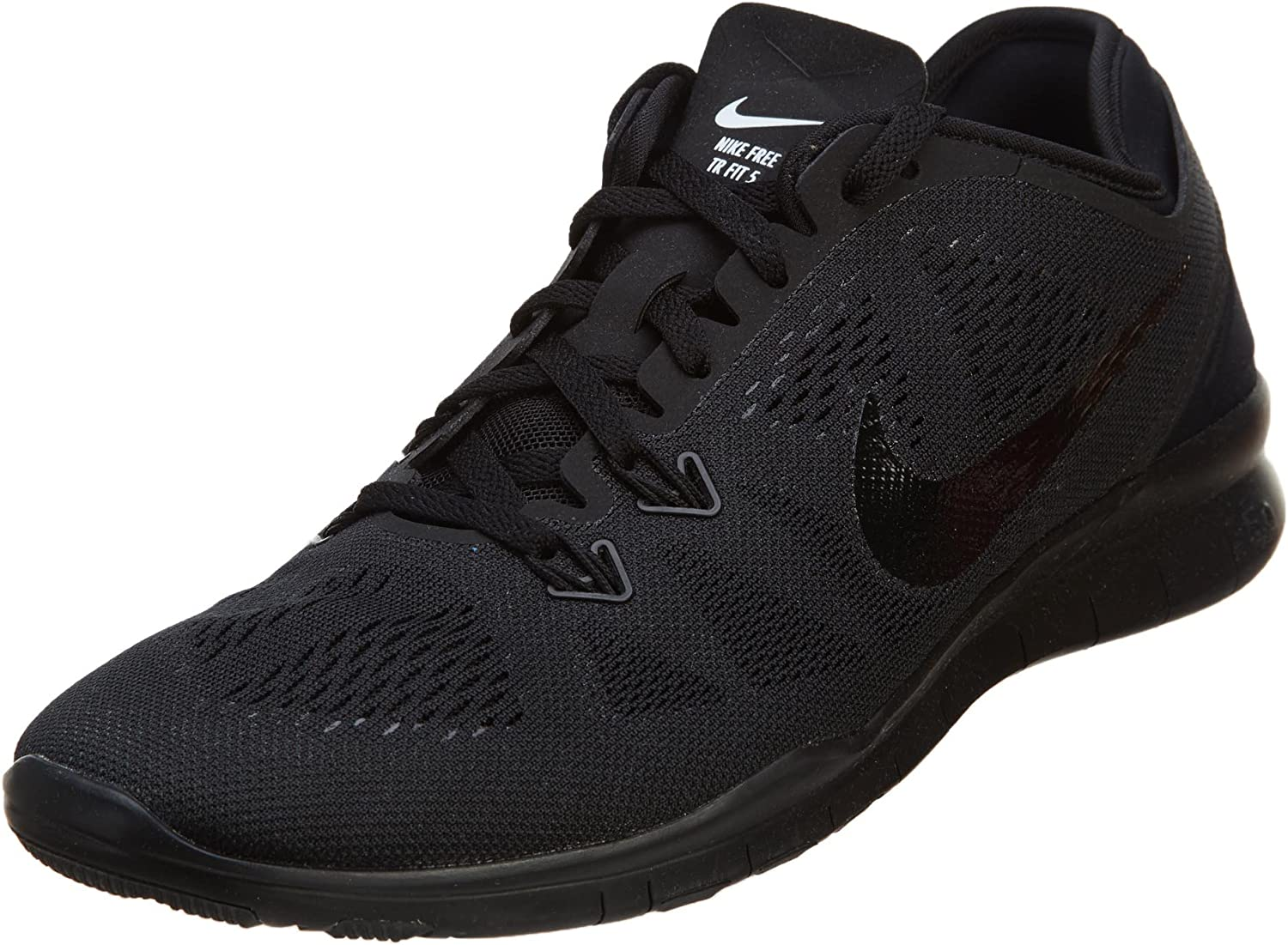 Desanimarse Armada Ru  Amazon.com | Nike Free 5.0 TR Fit 5 Womens Cross Training Shoes (5,  Black/Black/Black) | Shoes