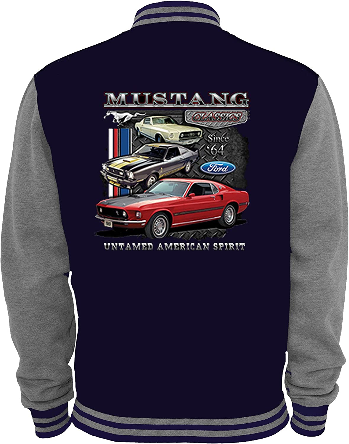 ford mustang college jacke