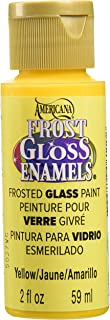 product image for DecoArt DAGF06-30 Americana Frost Gloss Enamel Paint, 2-Ounce, Yellow