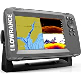 Lowrance HOOK2 7-7-inch Fish Finder with SplitShot Transducer and US/Canada Navionics+ Map Card