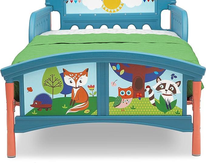 Delta Children Woodland Tails Lit pour Enfant avec Bedguard