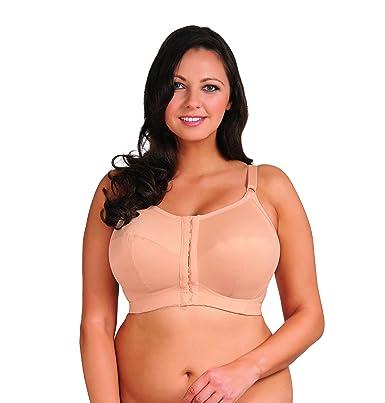 becfb444d956e Goddess womens comfort zone soft cup bra front close nude jpg 385x403 Bras  48g cup
