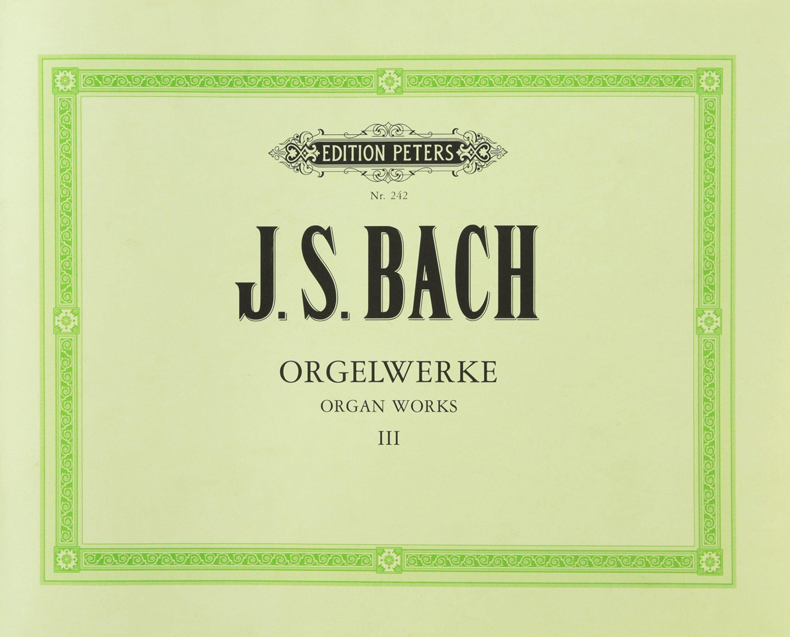 Orgelwerke In 9 Bänden   Band 3