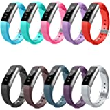 Fitbit Alta HR and Alta Bands, Greeninsync Fitbit Alta Accessory Replacement Band Large Small for Fitbit Alta HR Wristbands Available in 18 Colors with Metal Clasp and Ultrathin Fastener