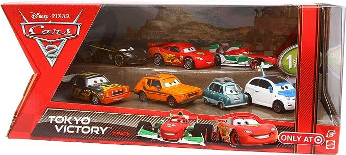 Disney Pixar CARS 2 TOKYO VICTORY Exclusive 7 pack set: FRANK ...