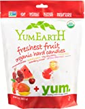 YumEarth Organic Freshest Fruit Drops, 13 Ounce Bag (Packaging May Vary)