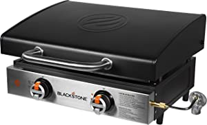 Blackstone 1813 Tabletop Griddle with Hood, Black