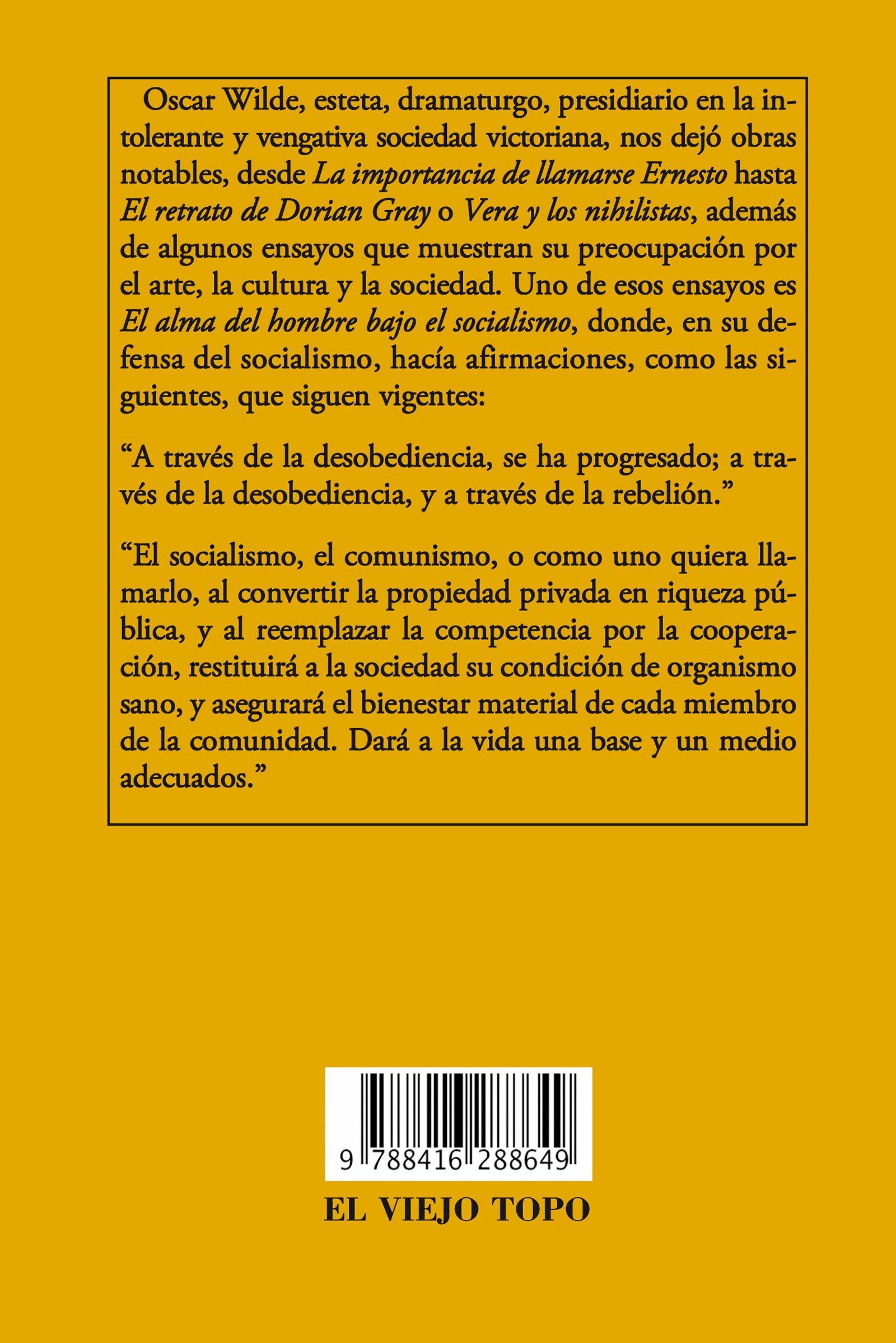 ALMA DEL HOMBRE BAJO EL SOCIALISM Clásicos de El Viejo Topo ...