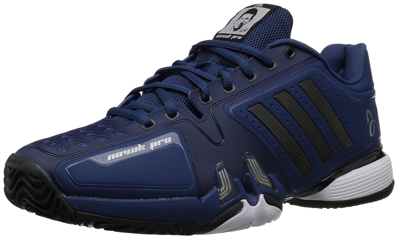 adidas Performance Men's Novak Pro Tennis Shoe B0716YGHGX 13.5 D(M) US|Real Blue/Core Black/White
