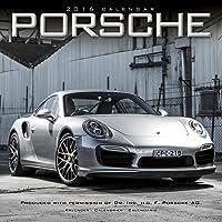Porsche Calendar- 2016 Wall calendars - Car Calendar - Automobile Calendar - Monthly Wall Calendar by Avonside