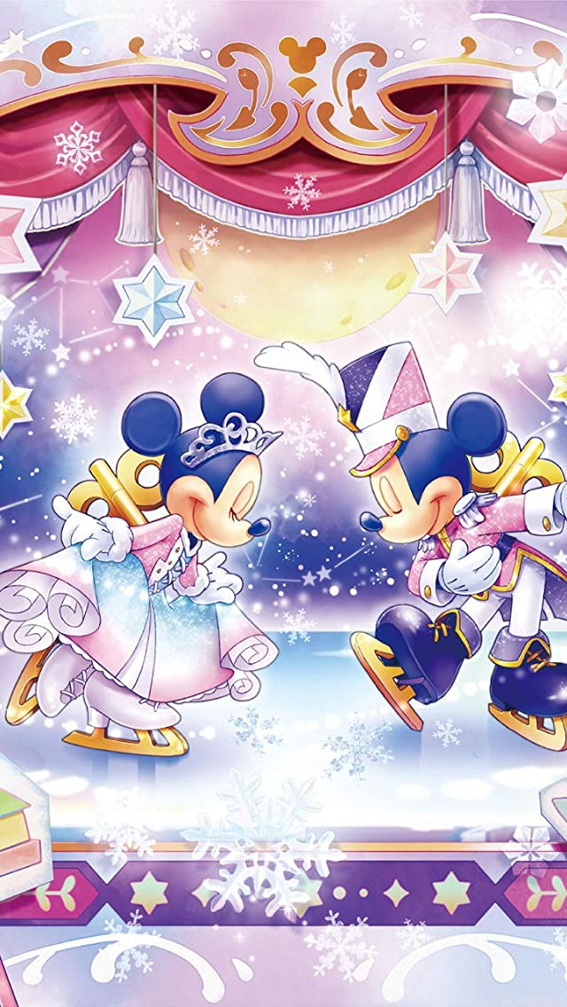 ディズニー おもちゃの国のアイスショー iPhoneSE/5s/5c/5(640×1136)壁紙画像