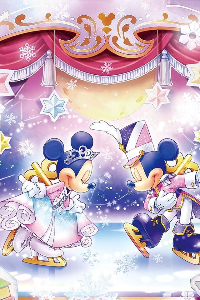 ディズニー おもちゃの国のアイスショー iPhone(640×960)壁紙画像