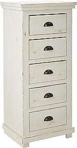 Progressive Furniture Willow, Distressed White