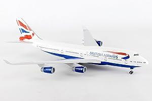 Daron SKYMARKS British Airways B747-400 1/200 W/Gear Model Airplane SKR304