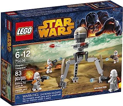 New Genuine LEGO Airborne Clone Trooper Minifig Star Wars 75036
