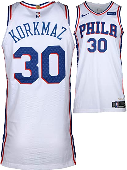 Image Unavailable. Image not available for. Color  Furkan Korkmaz  Philadelphia 76ers Player-Issued  30 White Jersey ... 0434d1f81