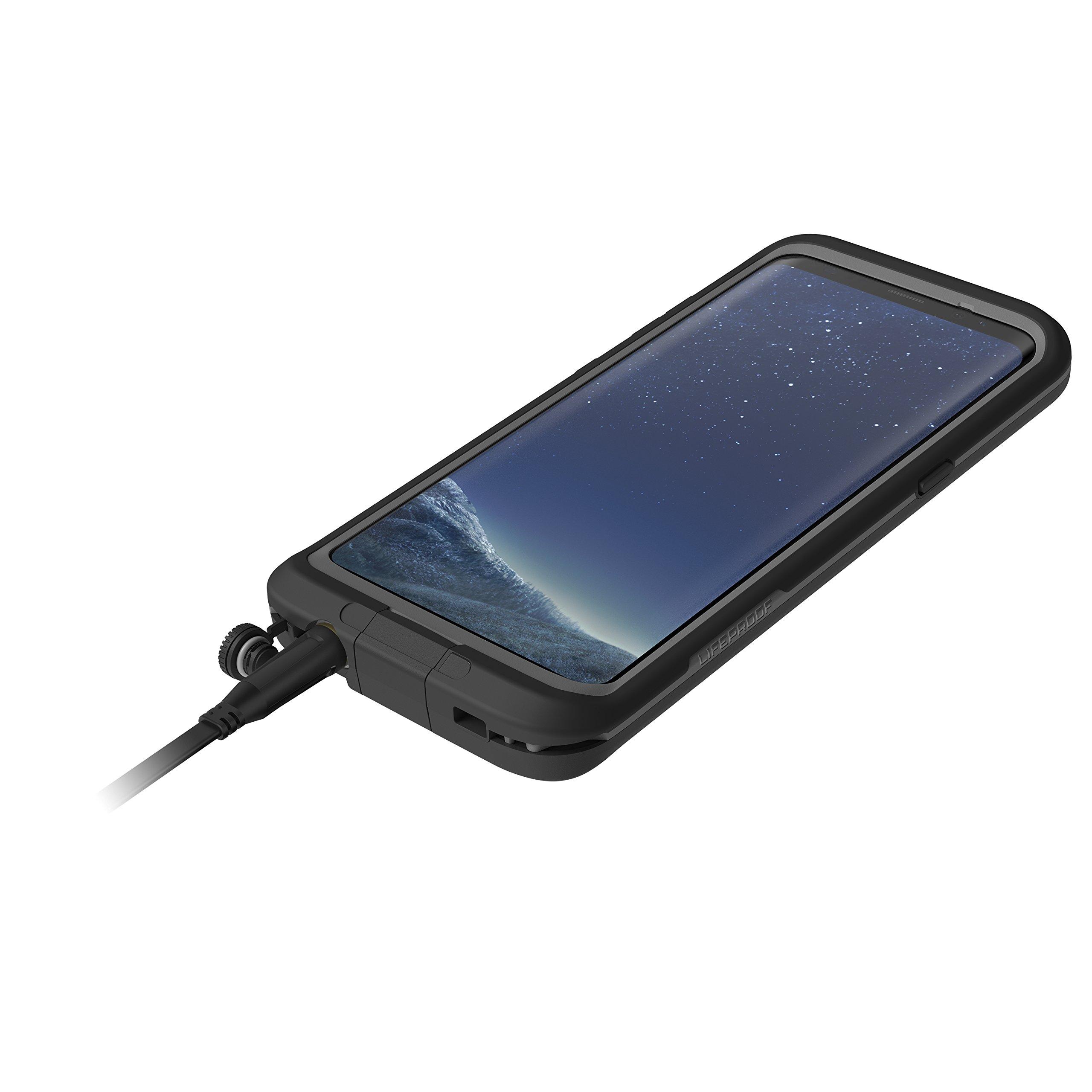 Lifeproof FRĒ SERIES Waterproof Case for Samsung Galaxy S8 (ONLY) - Retail Packaging - ASPHALT (BLACK/DARK GREY) by LifeProof (Image #6)