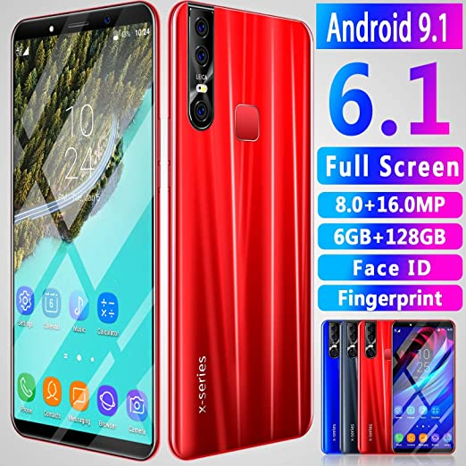 XGLL Smartphone Libre 6 Pulgadas Cámara Frontal 8MP Cámara Trasera ...