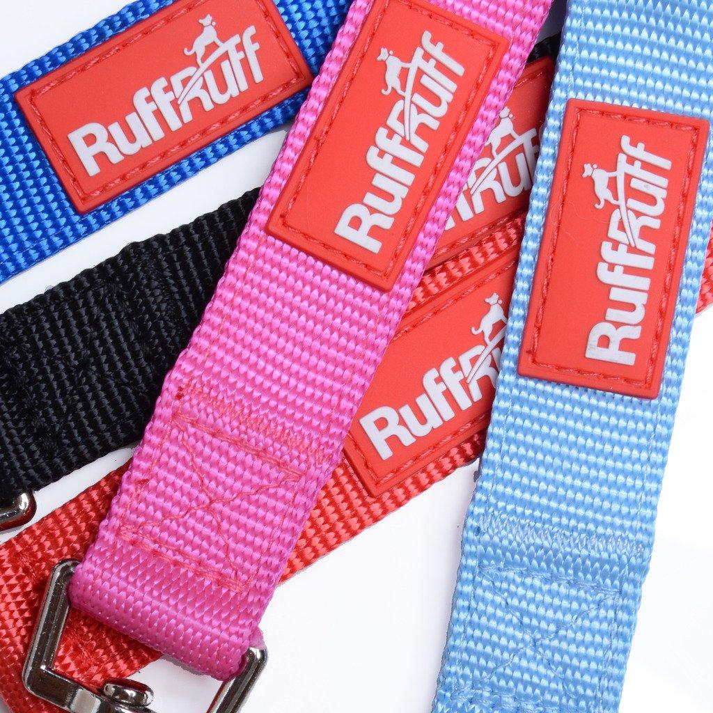 2 YEAR GUARANTEE Ruff Ruff Premier Luxury Padded Handle Durable Pet Dog Lead Leash Admiral Blue 180cm//6ft x 25mm
