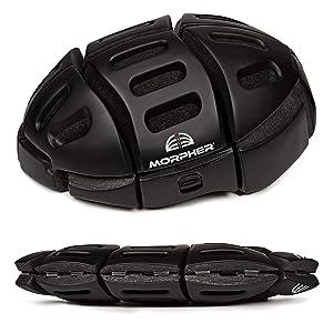 Morpher Folding Helmet (Matt Black)