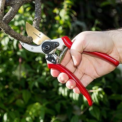 ClassicPRO Titanium Pruning Shears - Best Tree Trimmer, Garden Shears, Hand Pruner