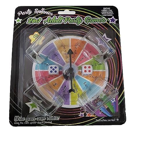 2 en 1 jeux de parti pour adultes - Party Spinner - Shot GameS