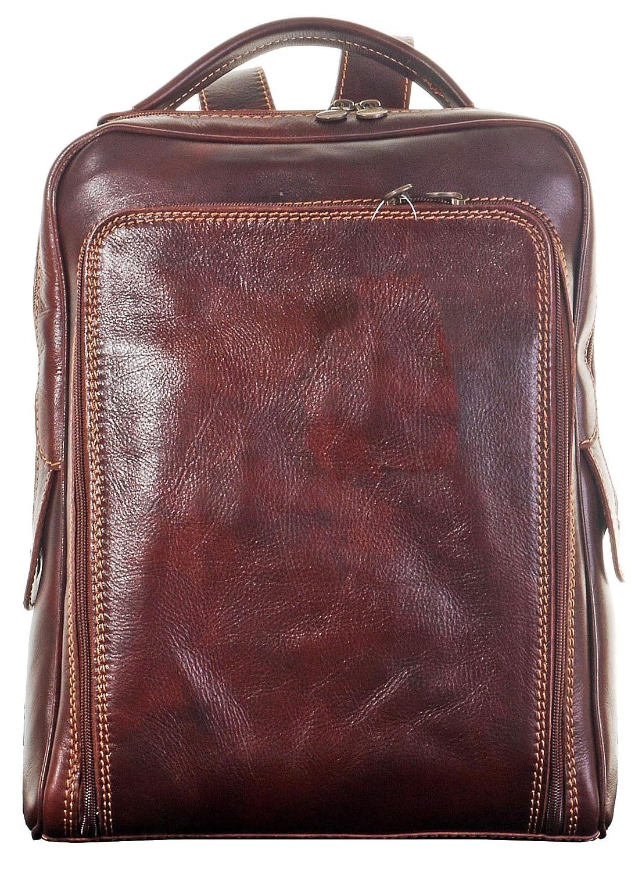 Gentlemans Classic Style arrière fabriqué à la main en cuir italien luxe Pack sac à bandoulière cartable sac à dos.Comprend étui protecteur marque