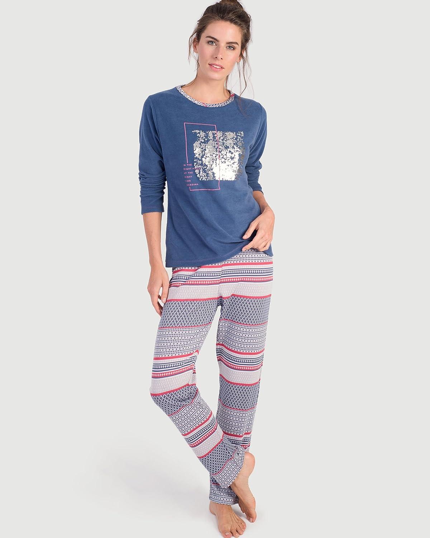 MASSANA Pijama DE Mujer Punto: Amazon.es: Ropa