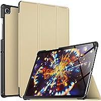 Luibor Samsung Galaxy Tab S5E 10.5 Inch Estuche - Cubierta Elegante y Delgado Estuche de Piel Ultra Ligero Estuche para Samsung Galaxy Tab S5E 10.5 Inch (Wi-Fi) y (4G LTE) Tableta (Oro)