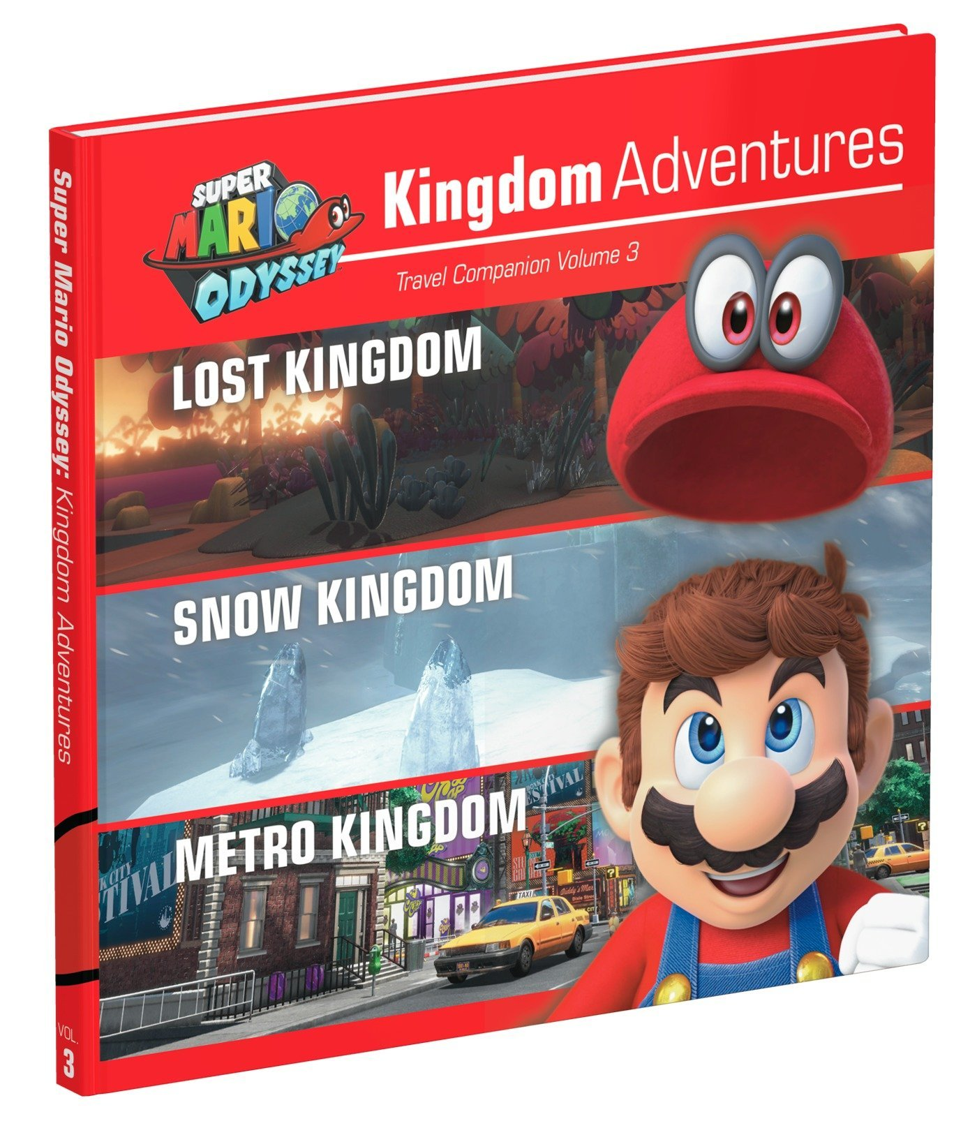 Super Mario Odyssey Kingdom Adventures Vol 3 Idioma Inglés: Amazon.es: Prima Games: Libros en idiomas extranjeros