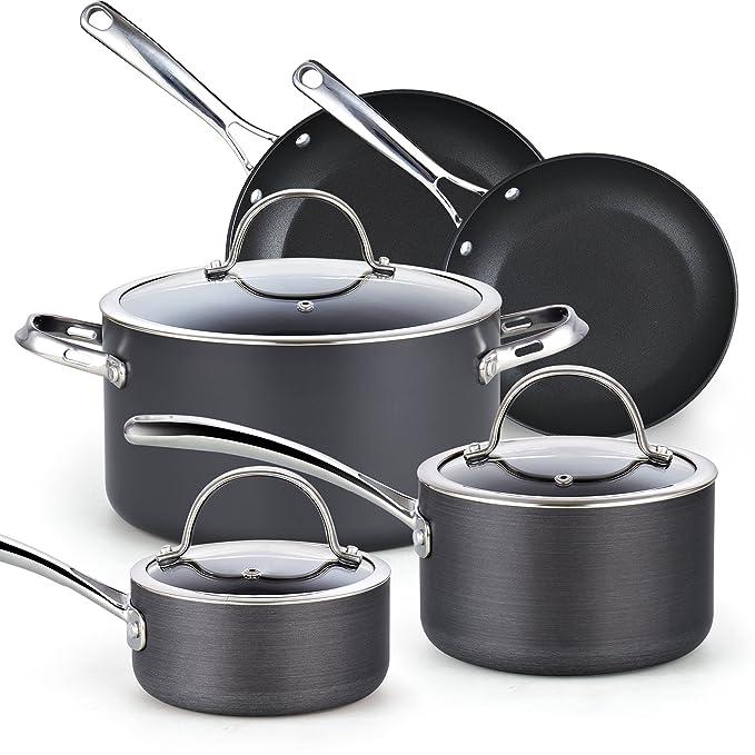 Review Cooks Standard 8-Piece Nonstick