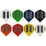 slim 5 Sets Empire Dart Flights Flys Pentathlon 5 verschiedene Motive 15 St