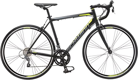 side facing schwinn phocus 1400 and 1600 drop bar road bikes