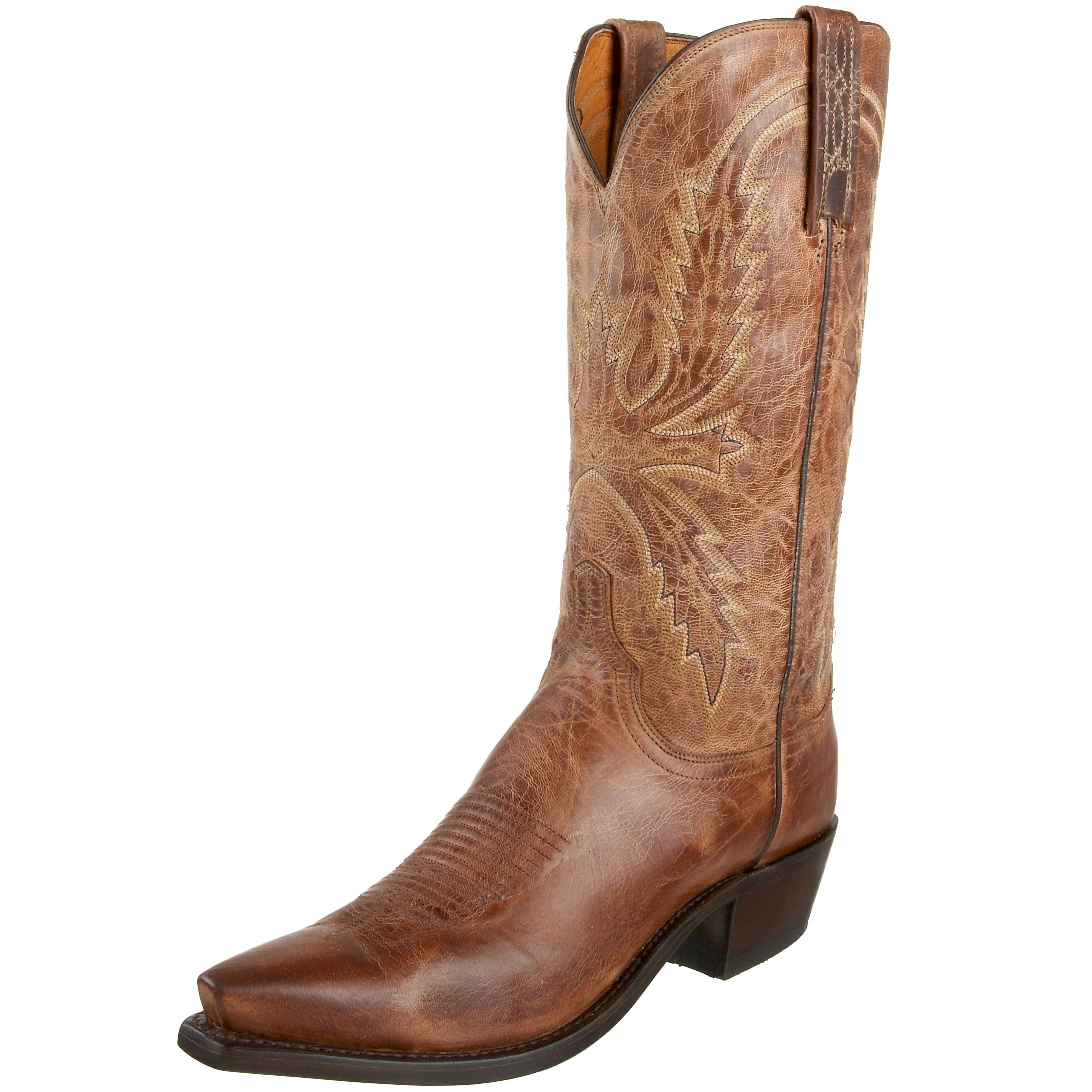 1883 by Lucchese Men's N1547.54 Western Boots,Tan Burnish,8 D(M)US