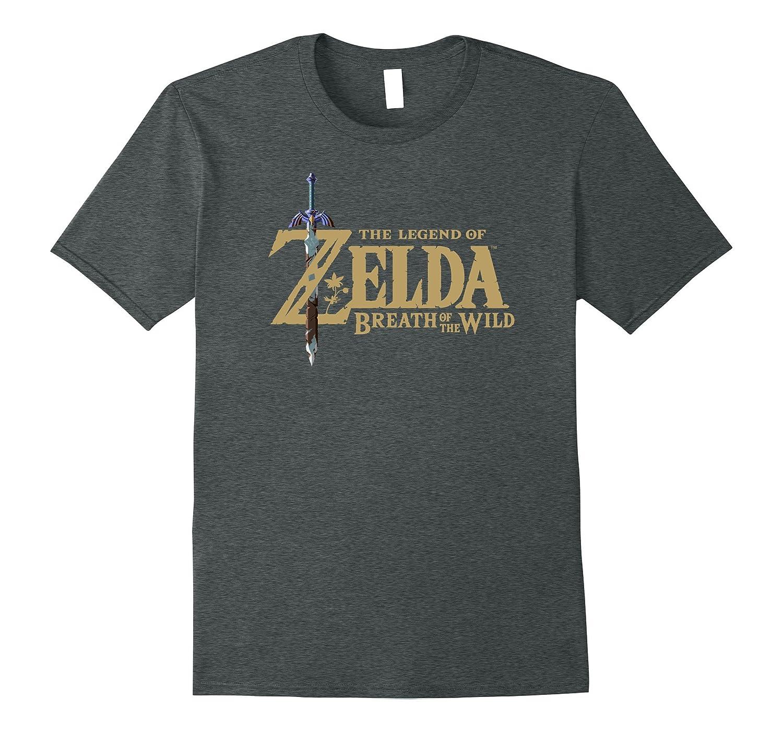 Nintendo Zelda Breath T Shirt Heather-Awarplus