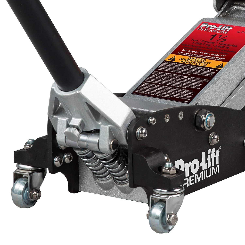 Pro-Lift G-5152 1-1/2 Tons Hybrid Garage Jack, 11.02