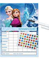 Frozen Re-usable Reward Chart (including FREE Star Stickers, stickers and Pen)