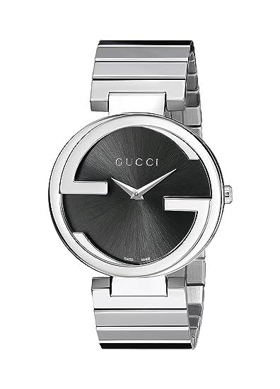 Gucci YA133307 - Reloj de cuarzo para mujer, con correa de acero inoxidable, color