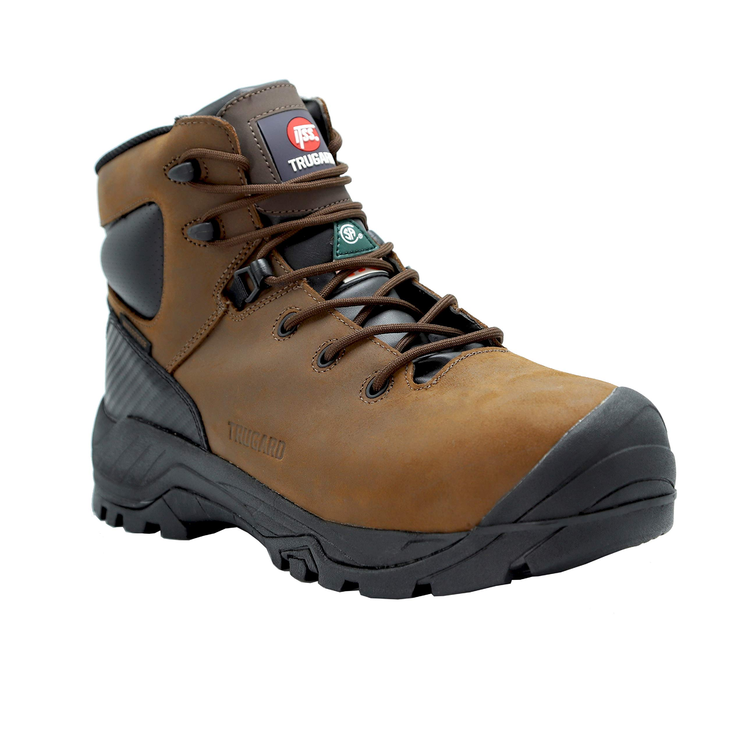 TRUGARD Construction Work Boots B300B (10) Brown