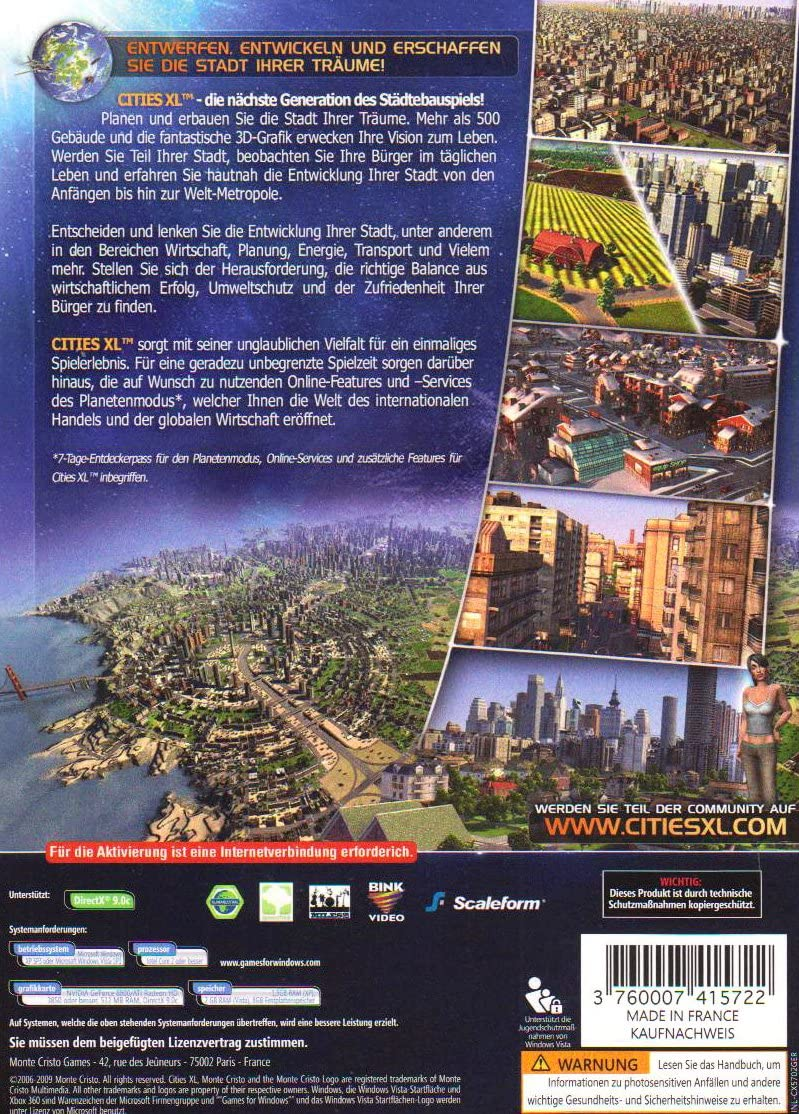 cities xl 2009 download full