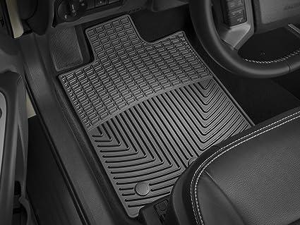 Coverking Custom Fit Front Floor Mats for Select Cadillac DTS Models Nylon Carpet Black