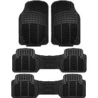 "FH Group Bandeja de Carga Premium Multiusos, Negro, Front: 28.7"" x 18.5"" Rear: 54.4"" x 17.1"""