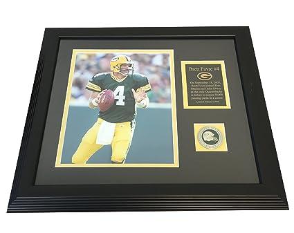 Amazon Brett Favre Green Bay Packers Hof Qb 50000 Passing