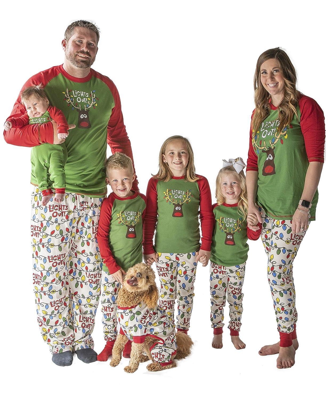 383b661ce2 Amazon.com  Family Matching Christmas Pajamas by LazyOne