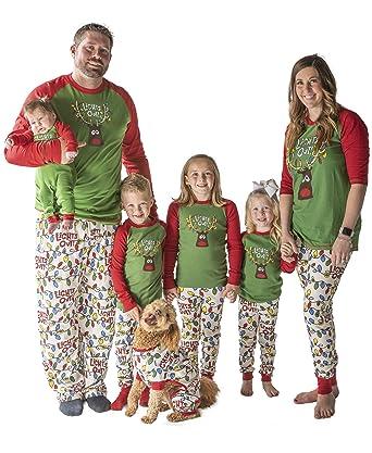 6499b7a7fc Amazon.com  Family Matching Christmas Pajamas by LazyOne